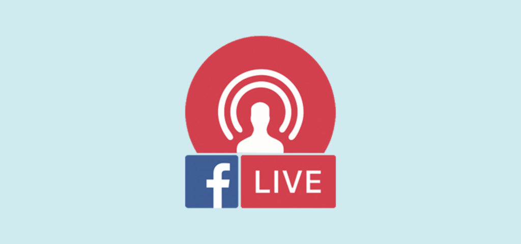 web transmisja na facebook