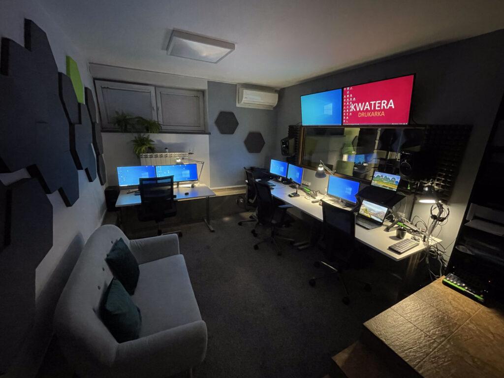 studio streamingowe